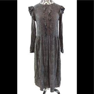 👗  H&M Long Sleeve Full Length Maxi Dress 👗